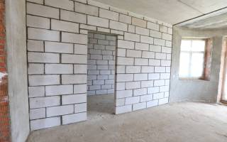 Штукатурка стен из пеноблоков внутри дома