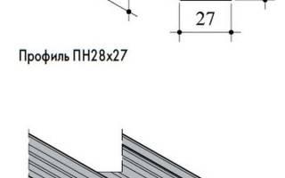 Как удлинить стоечный профиль для гипсокартона