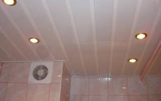 Как крепить потолочные панели из пластика