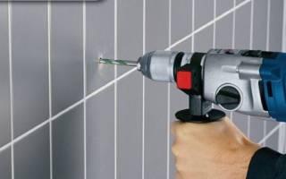 Чем сверлить керамическую плитку в ванной