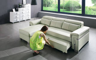 Как устроен диван раскладушка