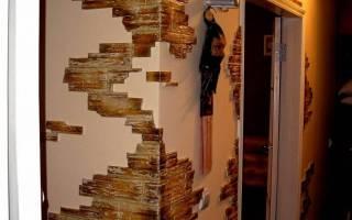Декор углов стен в квартире