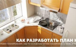 Как правильно расположить кухню со встроенной техникой