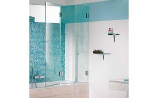 Дверки для ванной вместо занавесок