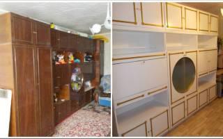 Какой краской можно покрасить мебель из дсп