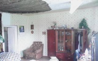 Ремонт глиняного потолка в старом доме