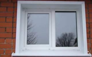 Отделка окна снаружи металлом пошагово