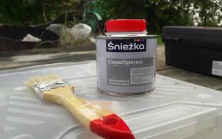 Как сделать огнеупорную краску из серебрянки