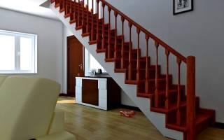 Габариты винтовой лестницы на второй этаж