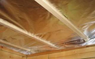Принцип действия пароизоляции потолка