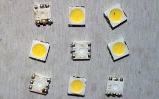 Светодиодная лампа на 127в своими руками