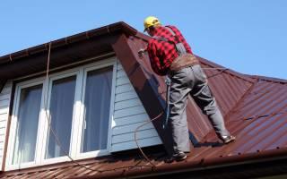 Краска для металлической крыши из черного металла