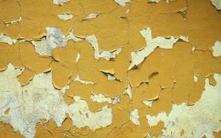 Как быстро отодрать краску со стен