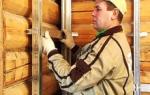 Отделка стен ГВЛ в деревянном доме