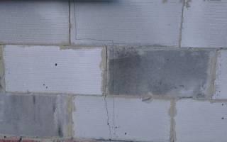 Трескаются стены из газобетона что делать