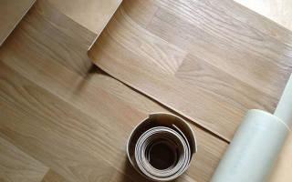 Правила укладки линолеума на деревянный пол