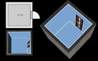 Спроектировать ванную комнату самостоятельно