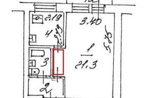 Перестройка квартиры хрущевки