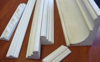 Как подобрать потолочный плинтус по высоте потолка