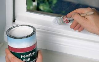 Краска для деревянных оконных рам без запаха