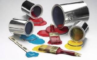 Краска для подоконников без запаха