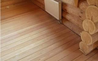Как опустить полы в старом деревянном доме