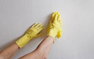 Как убрать клей с обоев темного цвета
