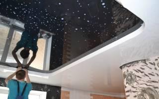 Технология установки натяжных потолков своими руками