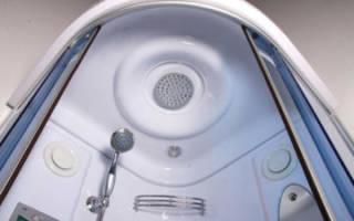 Как приподнять душевую кабину чтобы уходила вода