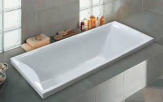 Правила установки чугунной ванны