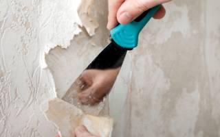 Как оторвать флизелиновые обои от стены