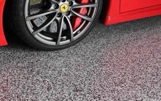Чем лучше покрасить бетонный пол в гараже