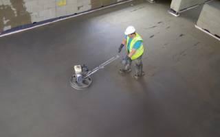 Сколько сохнет бетонная стяжка пола 10 см