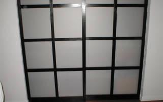 Установка раздвижные двери для гардеробной самостоятельно