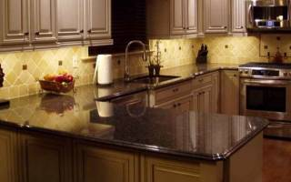 Стандартная высота кухни со столешницей