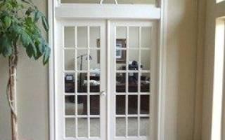 Пространство над дверью чем заполнить