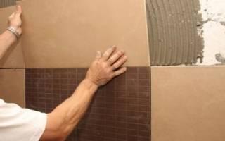 Нужно ли шпаклевать стены перед укладкой плитки