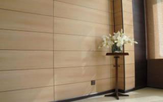 Как обшить стены МДФ панелями своими руками