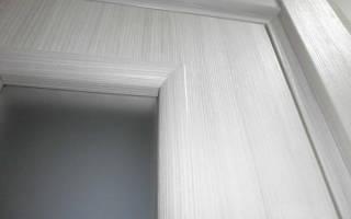 Межкомнатные двери ПВХ отличия от ламината