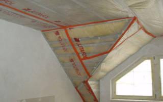 Как правильно крепить пароизоляцию на потолок
