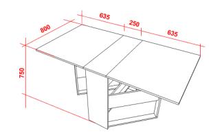 Как самому сделать стол трансформер своими руками