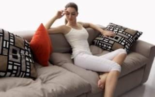 Как починить диван самому если посередине провалился