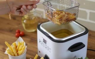 Как почистить фритюрницу от старого масла