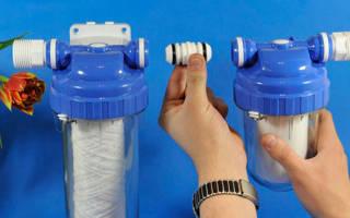 Фильтр для водонагревателя на даче