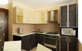 Как разместить мебель на кухне 9 метров
