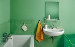 Чем покрасить ванную комнату внутри