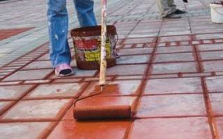Какая краска для бетона на улице лучше