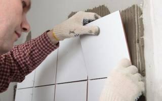 Каким клеем приклеить отвалившуюся плитку в ванной