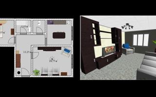 Как правильно расставить мебель в комнате программа
