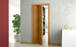 Складчатые двери межкомнатные